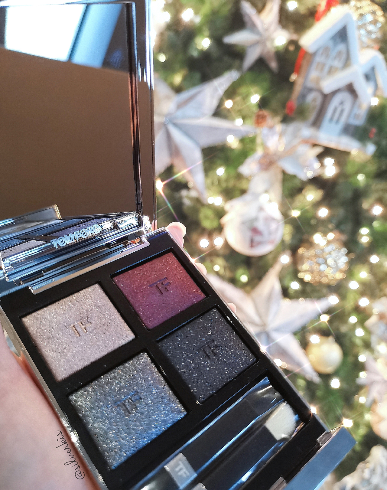 Tom Ford Extreme Eye Color Quad in Badass