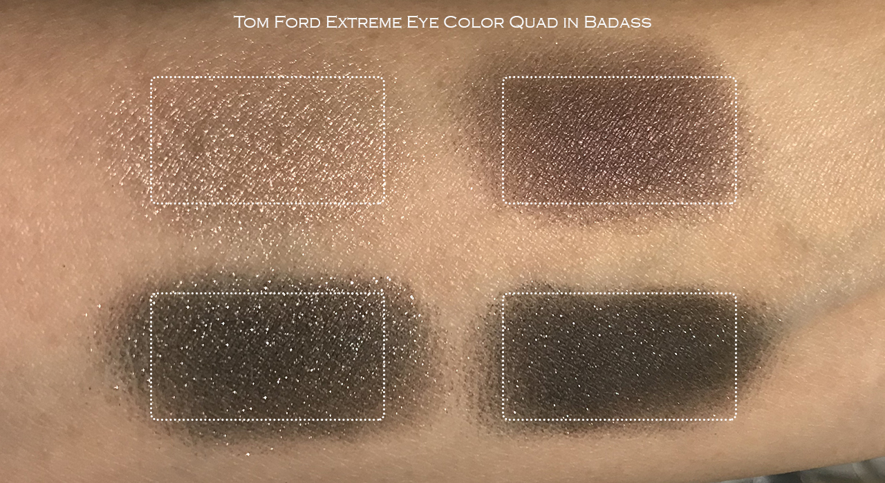 Tom Ford Badass swatches
