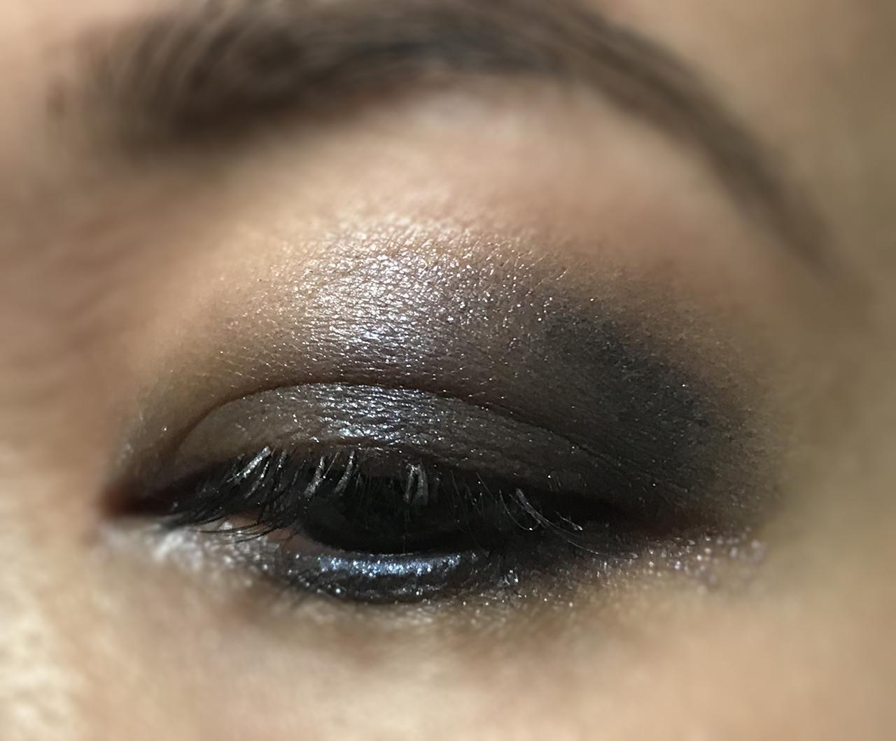 Tom Ford Soleil Neige eye makeup look
