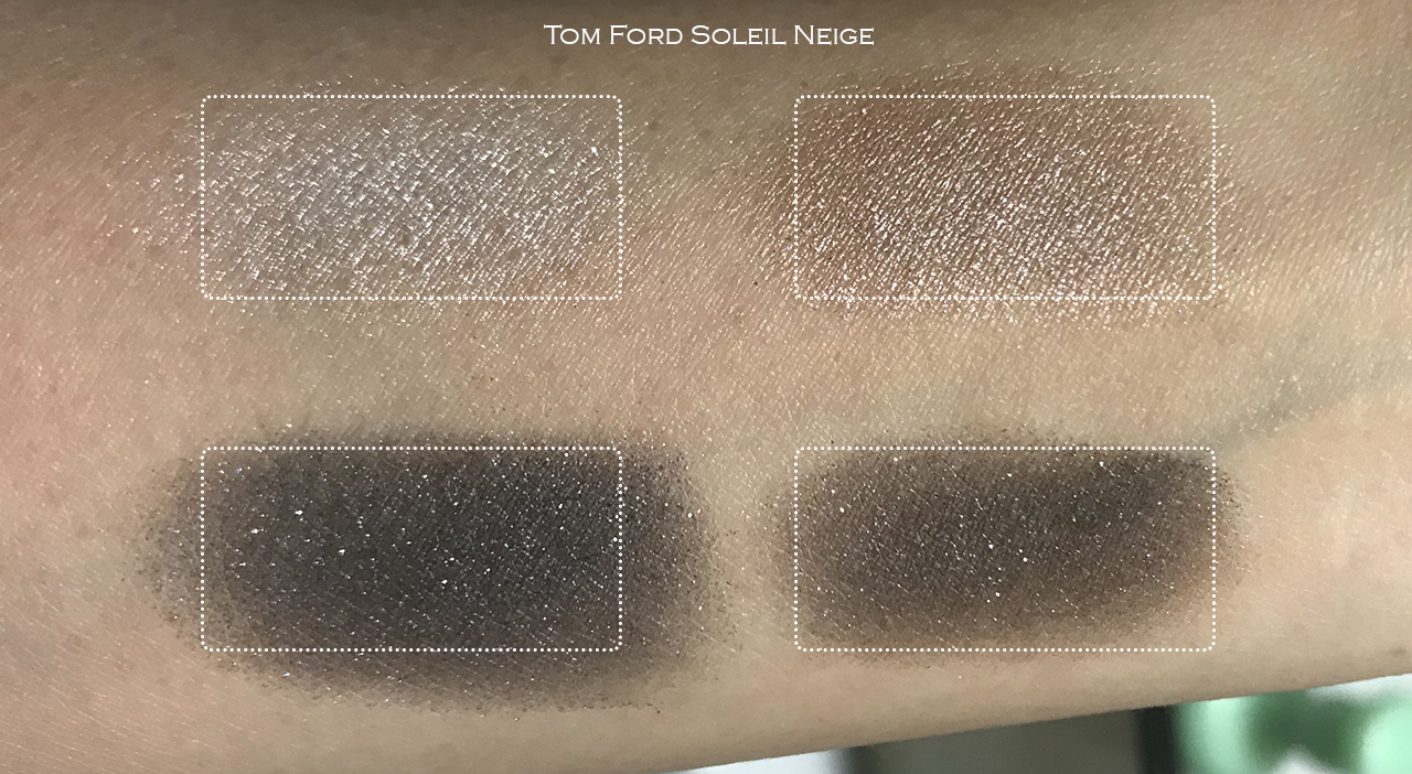 Tom Ford Soleil Neige Eye Color Quad swatches