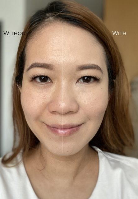 Charlotte Tilbury Airbrush Flawless Foundation comparison