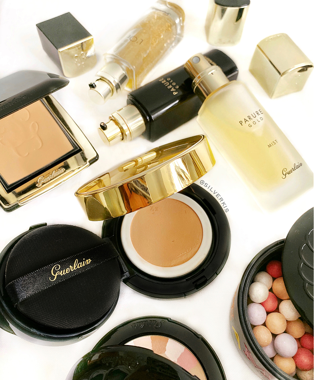 Guerlain Parure Gold Cushion & Mist