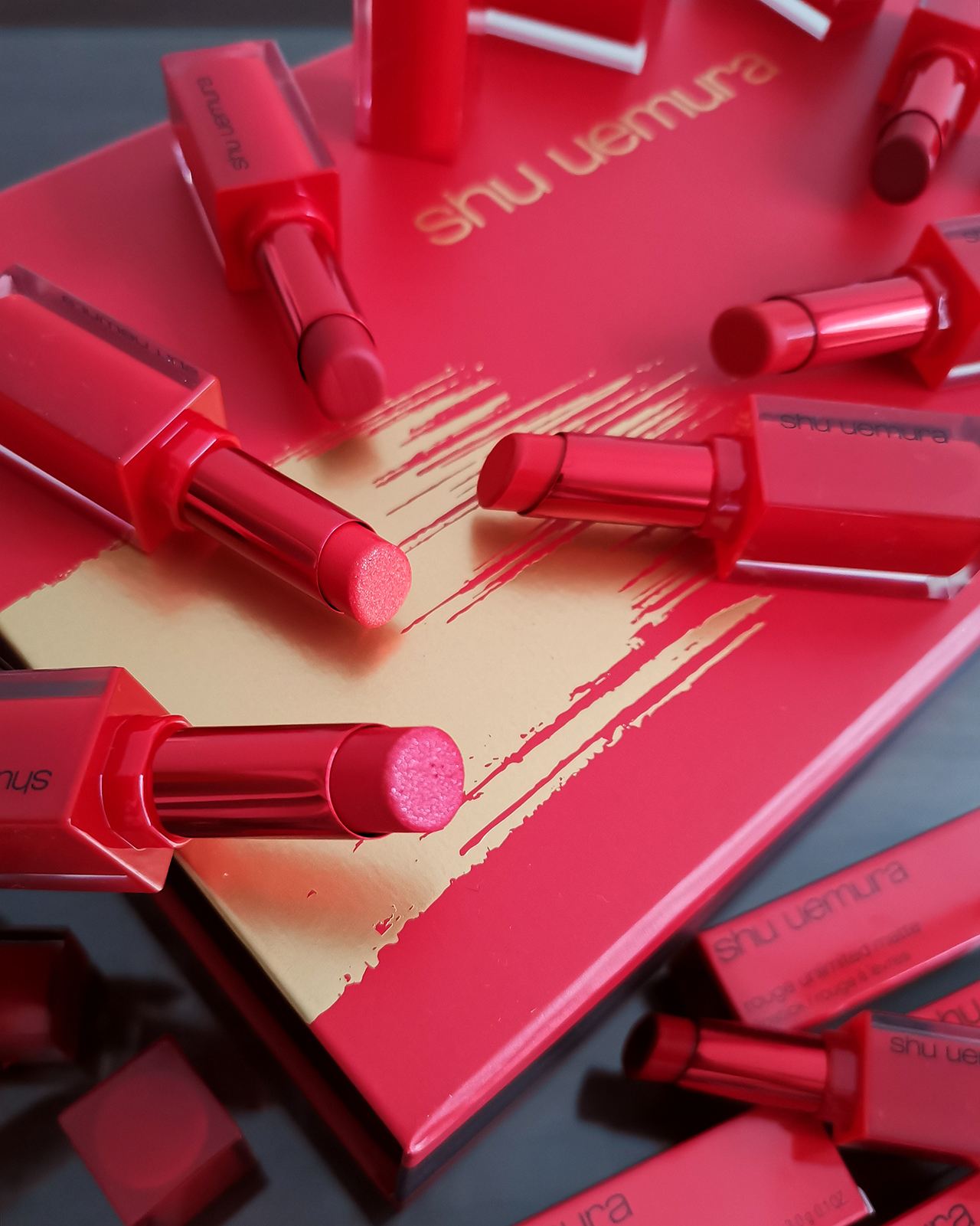 Shu Uemura Rouge Unlimited Flaming Reds Collection for Spring 2020
