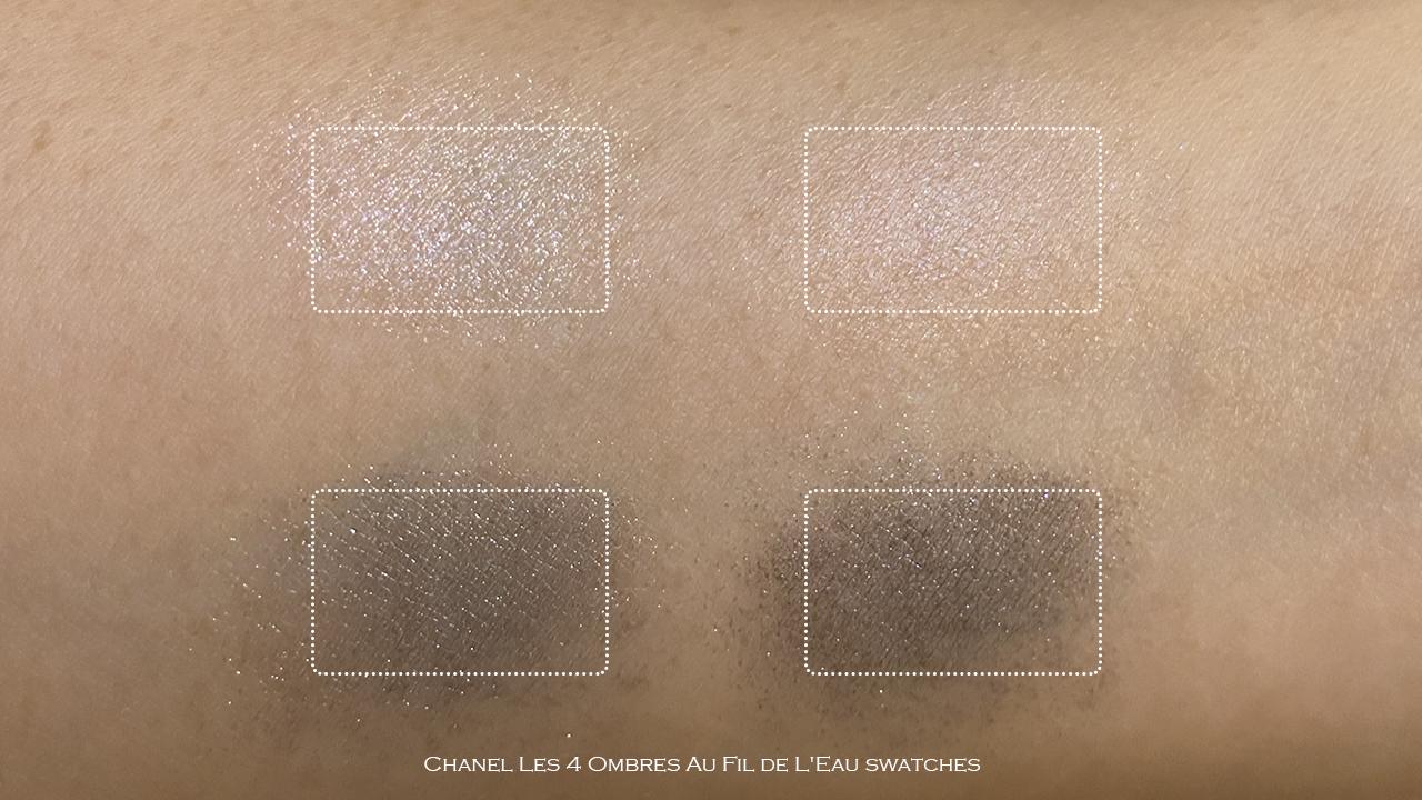 Chanel Au Fil de Leau swatches