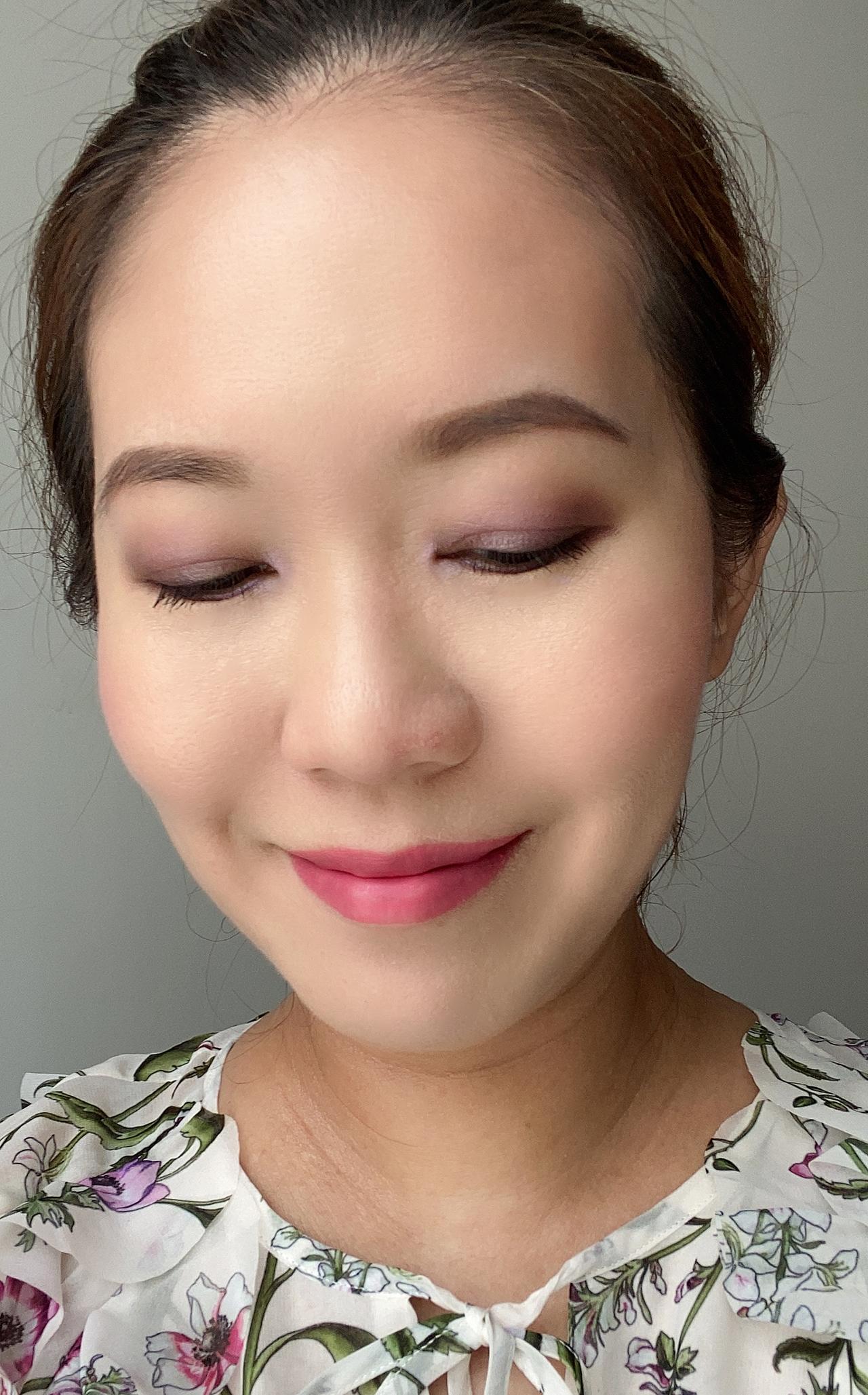 Chanel Au Fil des Fleurs makeup look