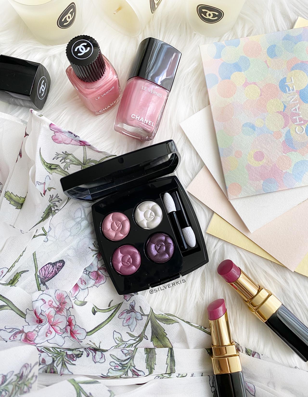 Chanel Les 4 Ombres Au Fil des Fleurs