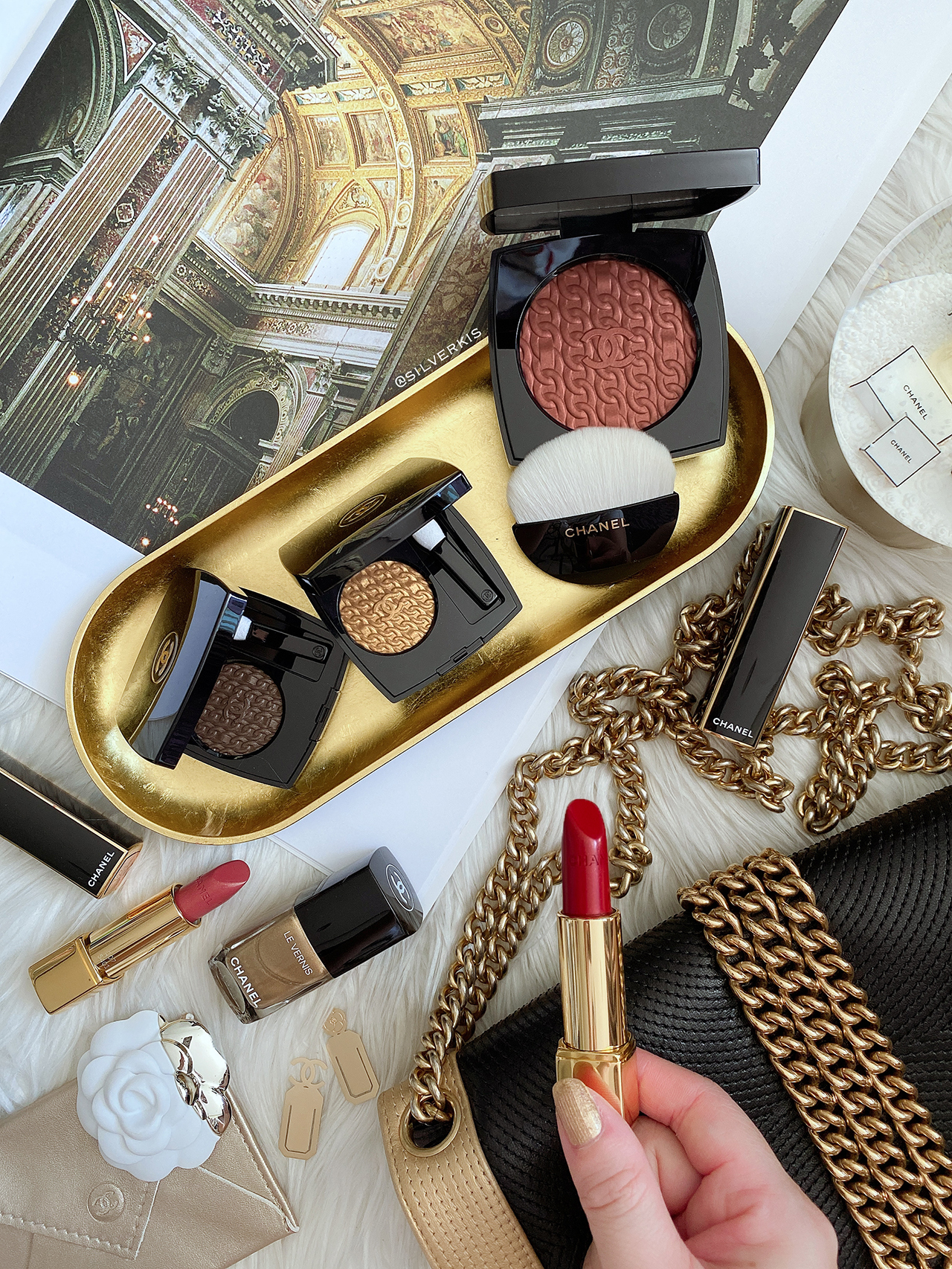 Chanel Holiday 2020 makeup