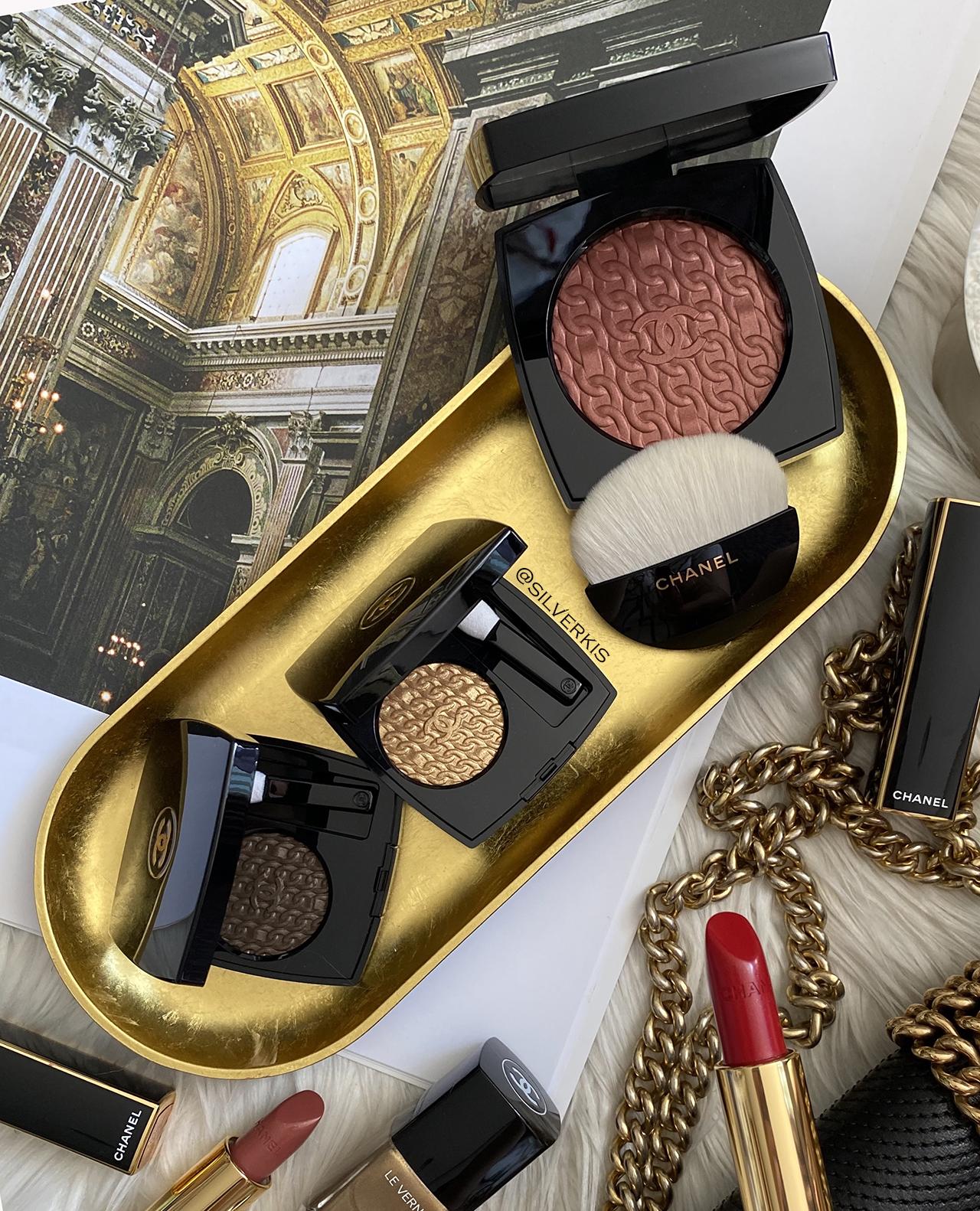 Chanel Les Chaines D'or Ombre Premiere & Poudre Blush Illuminatrice