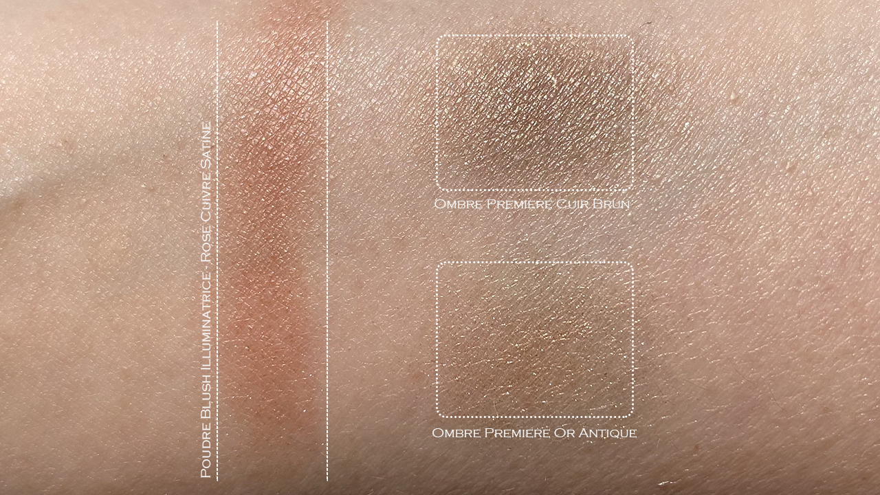 Chanel Ombre Premiere Or Antique & Cuir Brun swatches