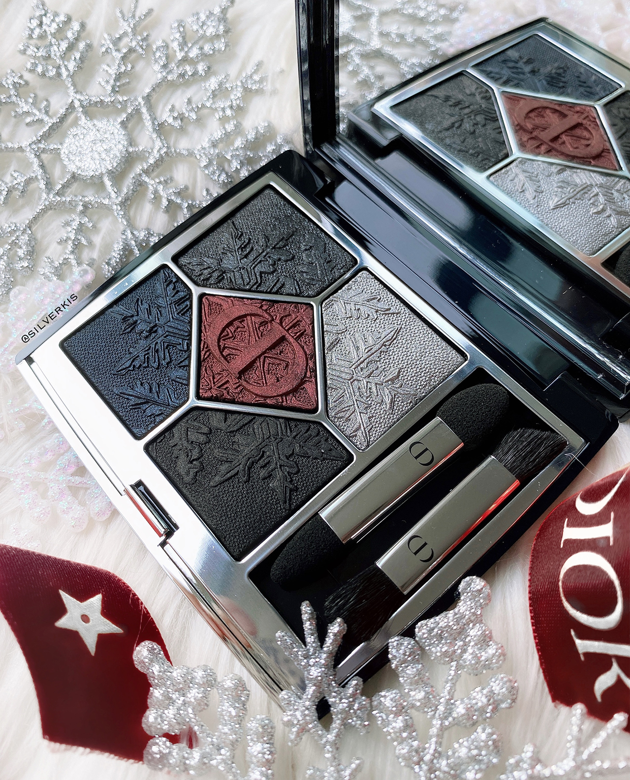 Dior 5 Couleurs Couture Black Night Eyeshadow Palette for Holiday 2020