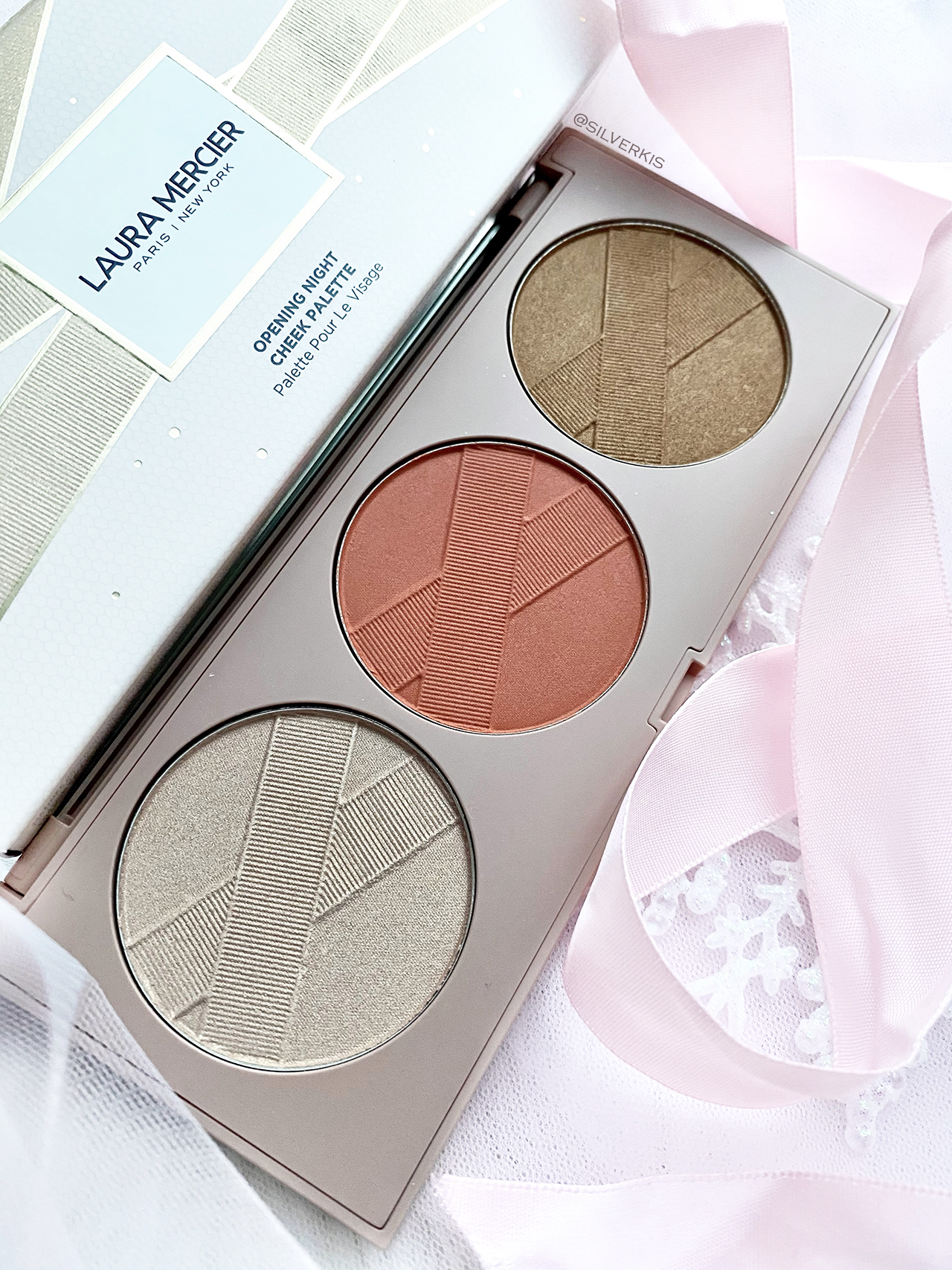 Laura Mercier Opening Night Cheek Palette for Holiday 2020