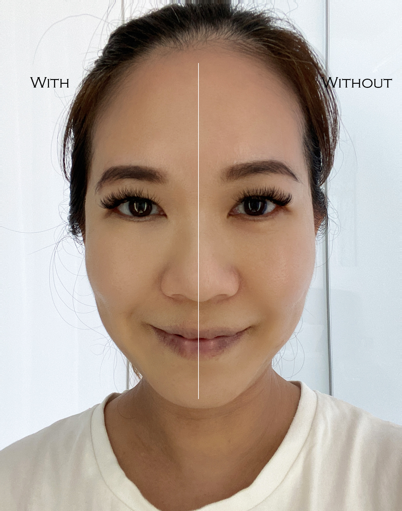 By Terry Hyaluronic Hydra Concealer before after